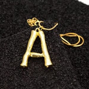 """Jewelry - ⭐️Letter """"A"""" Necklace⭐️"""